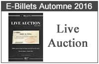 Live Auction Automne 2016