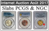 Slabs PCGS NGC Internet Auction